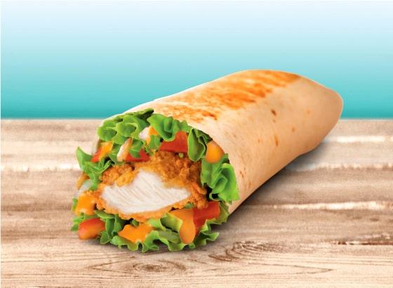 Chicken Burrito Taco Bell Taco Bell